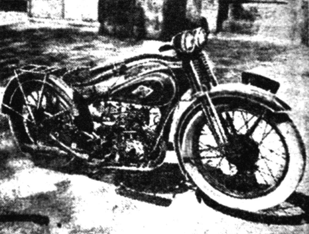 Один из шести опытных образцов мотоцикла 1М 350