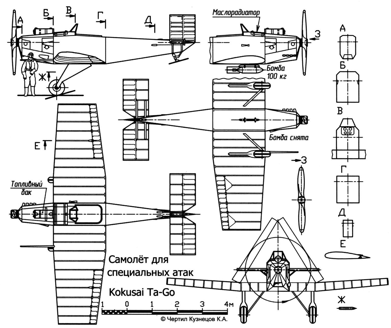 Самолёт для специальных атак Kokusai Ta-Go