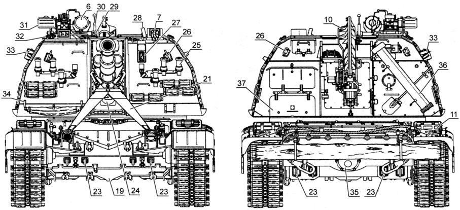 Самоходная артиллерийская установка 2С19 «Мста-С» № 101ШТ8037 выпуска 1993 года