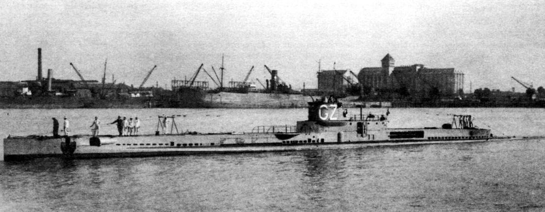 Подводная лодка «Гюстав Зэдэ» (Q-92), Франция, 1919 г.