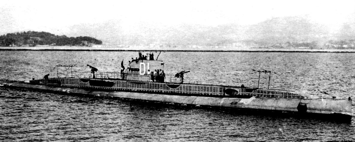 Подводная лодка «Дюпюи де-Лом» (Q-105), Франция, 1917 г.