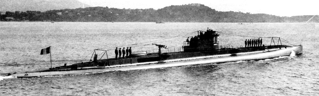 Подводная лодка «Лаплас» (Q-111), Франция, 1920 г.