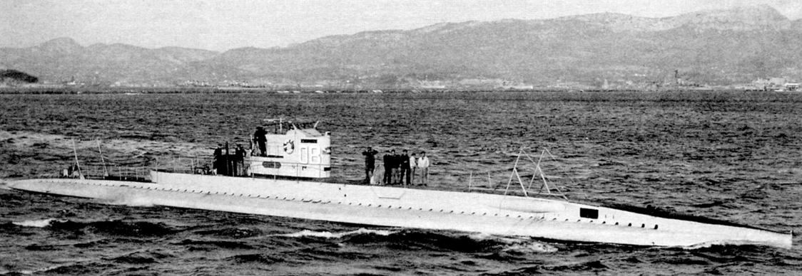 Подводная лодка «О'Бирн» (SC-5), Франция, 1920 г.