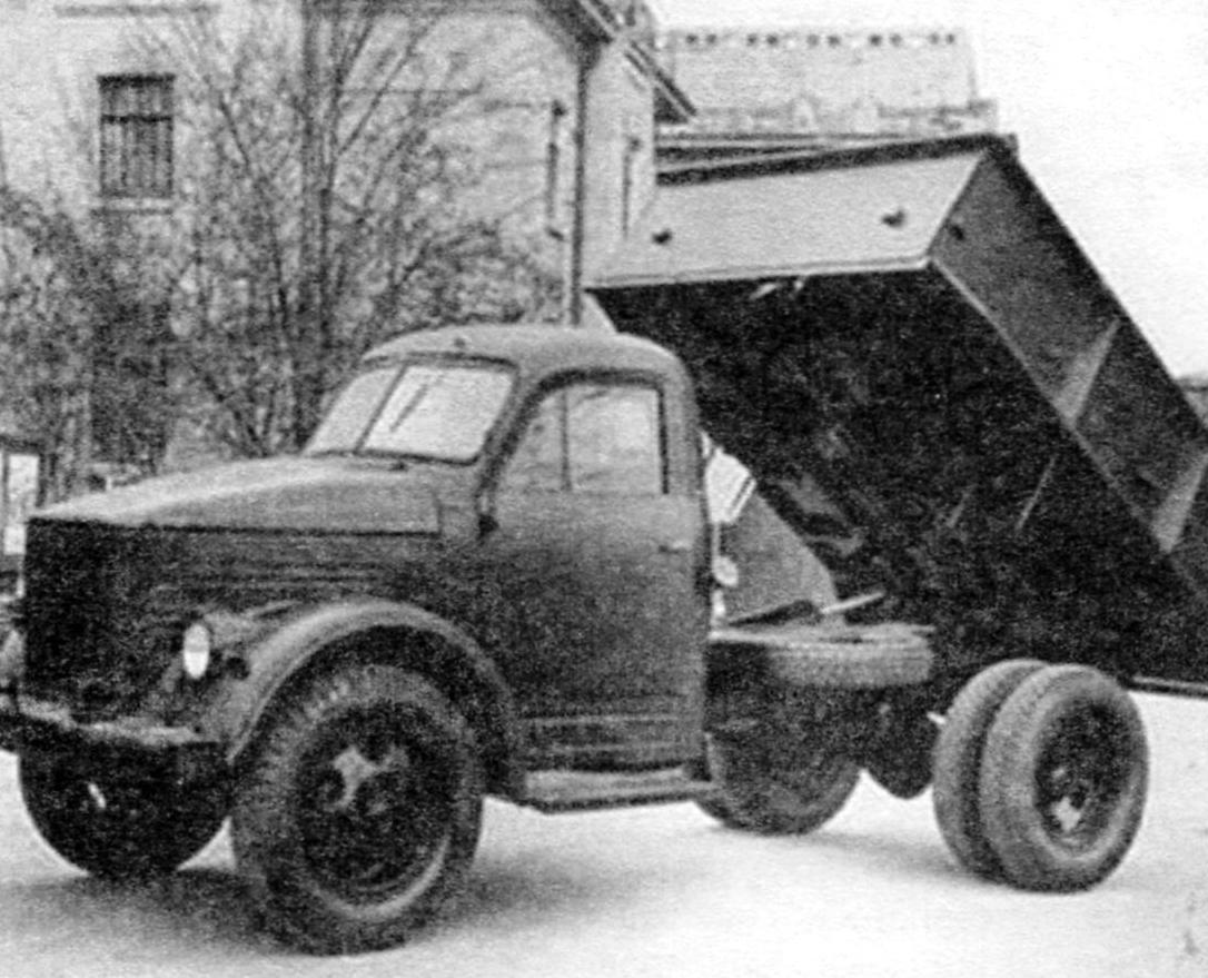 Автомобиль-самосвал ГАЗ-93А на шасси ГАЗ-51А