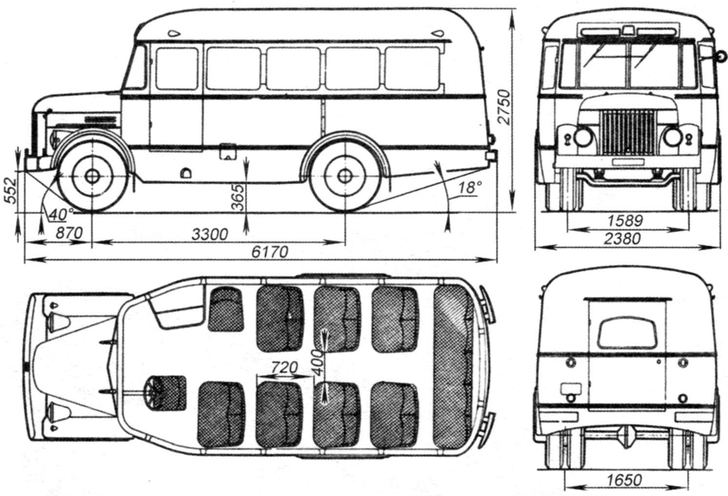 Автобус ГАЗ-651