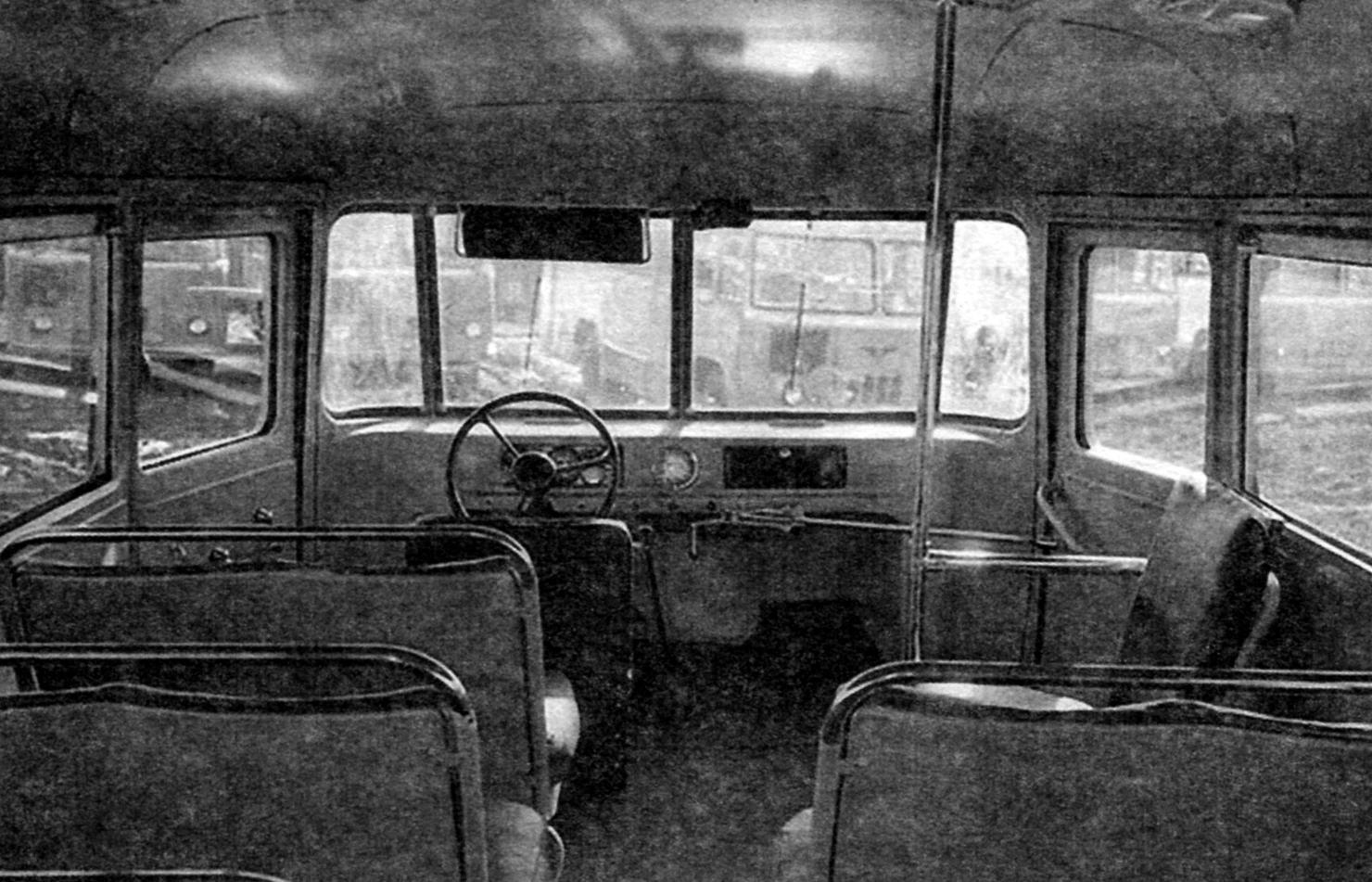 Салон автобуса