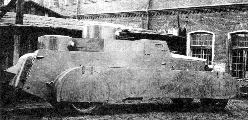 Duhsasana armor avtorezina BAD 1. The weight of the car with 3.27 tons Armament - 5 machine guns of 7.62 mm