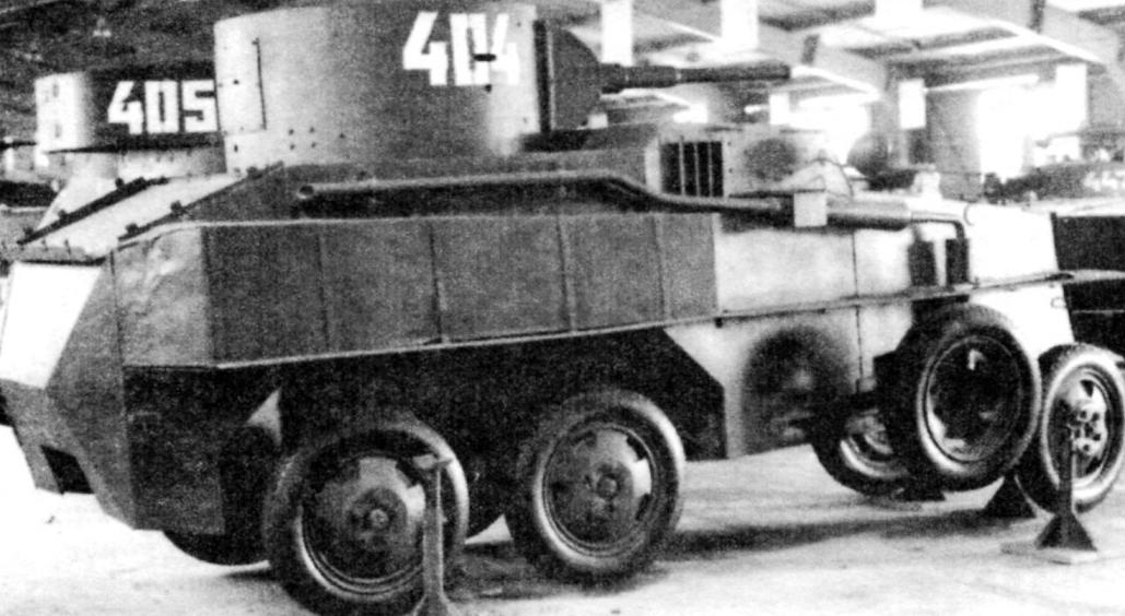 PB-4, in the exposition of the Military historical Museum in Kubinka