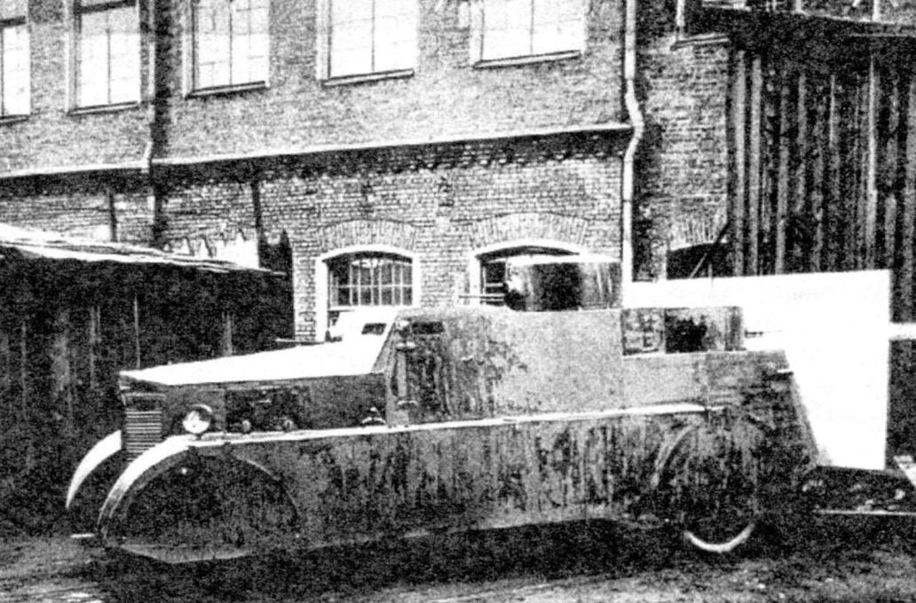 Двухбашенная броневая автодрезина БАД-1. Масса машины - 3,27 т. Вооружение - 5 пулемётов калибра 7,62 мм