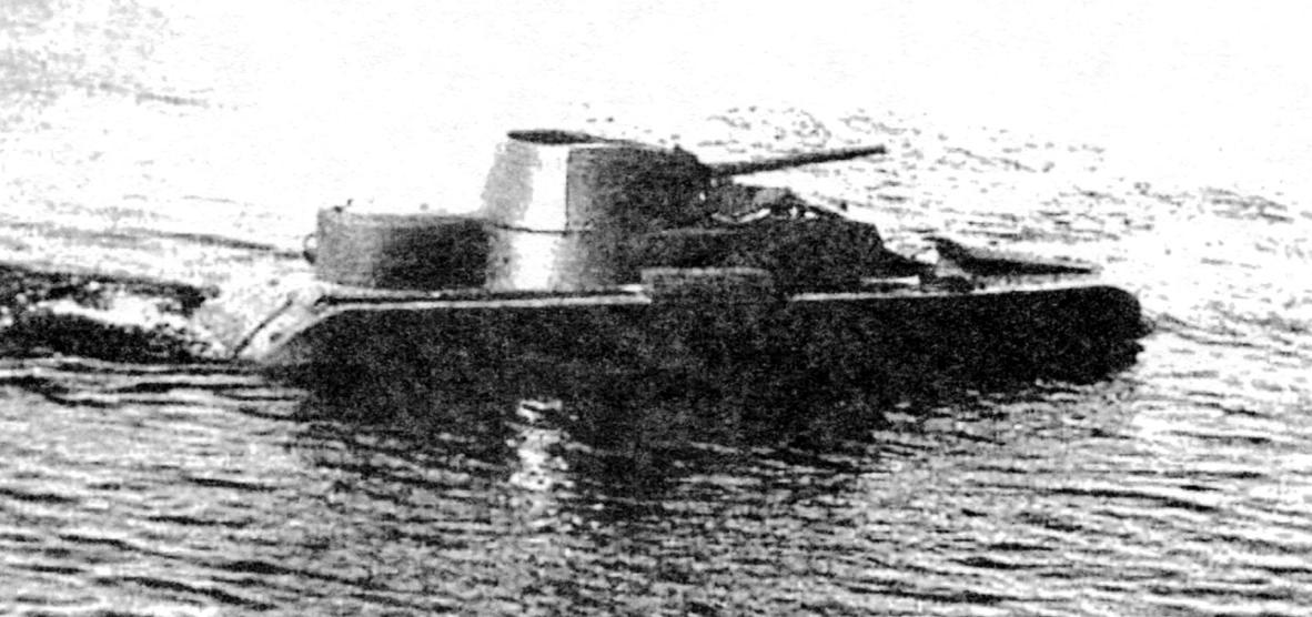Плавающая боевая автодрезина БАД-2
