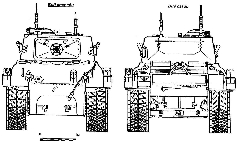 Средний танк М51