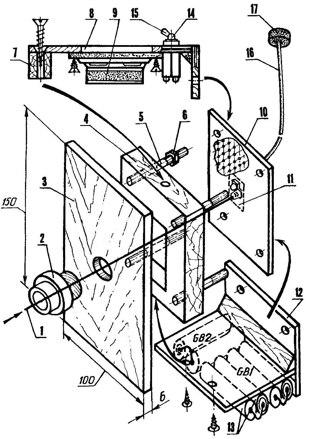 Optical-mechanical unit