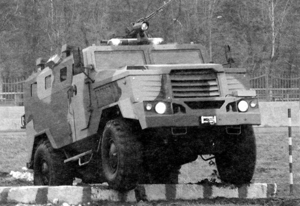 СПМ-3 «Медведь» на испытательном полигоне
