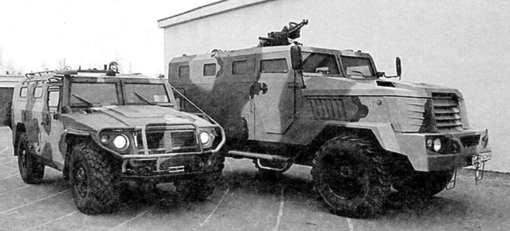 Бронеавтомобили «Тигр» и «Медведь»