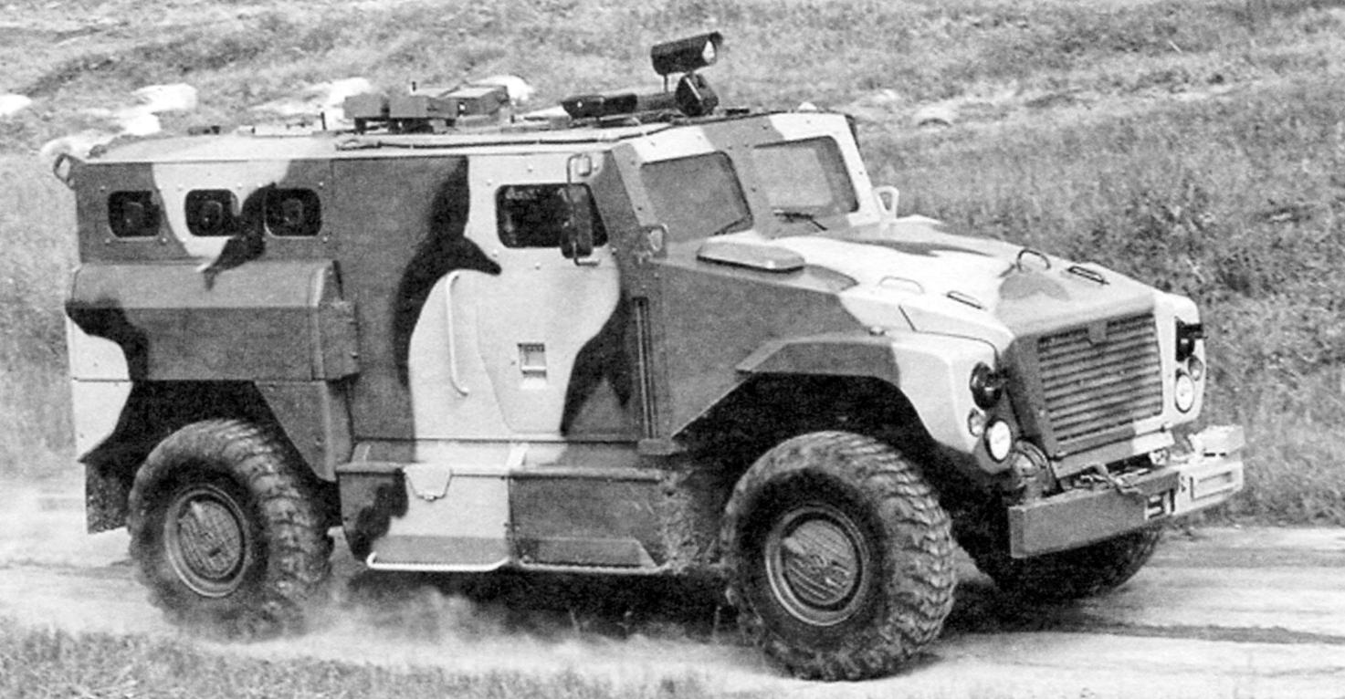 Armored car SPM-3