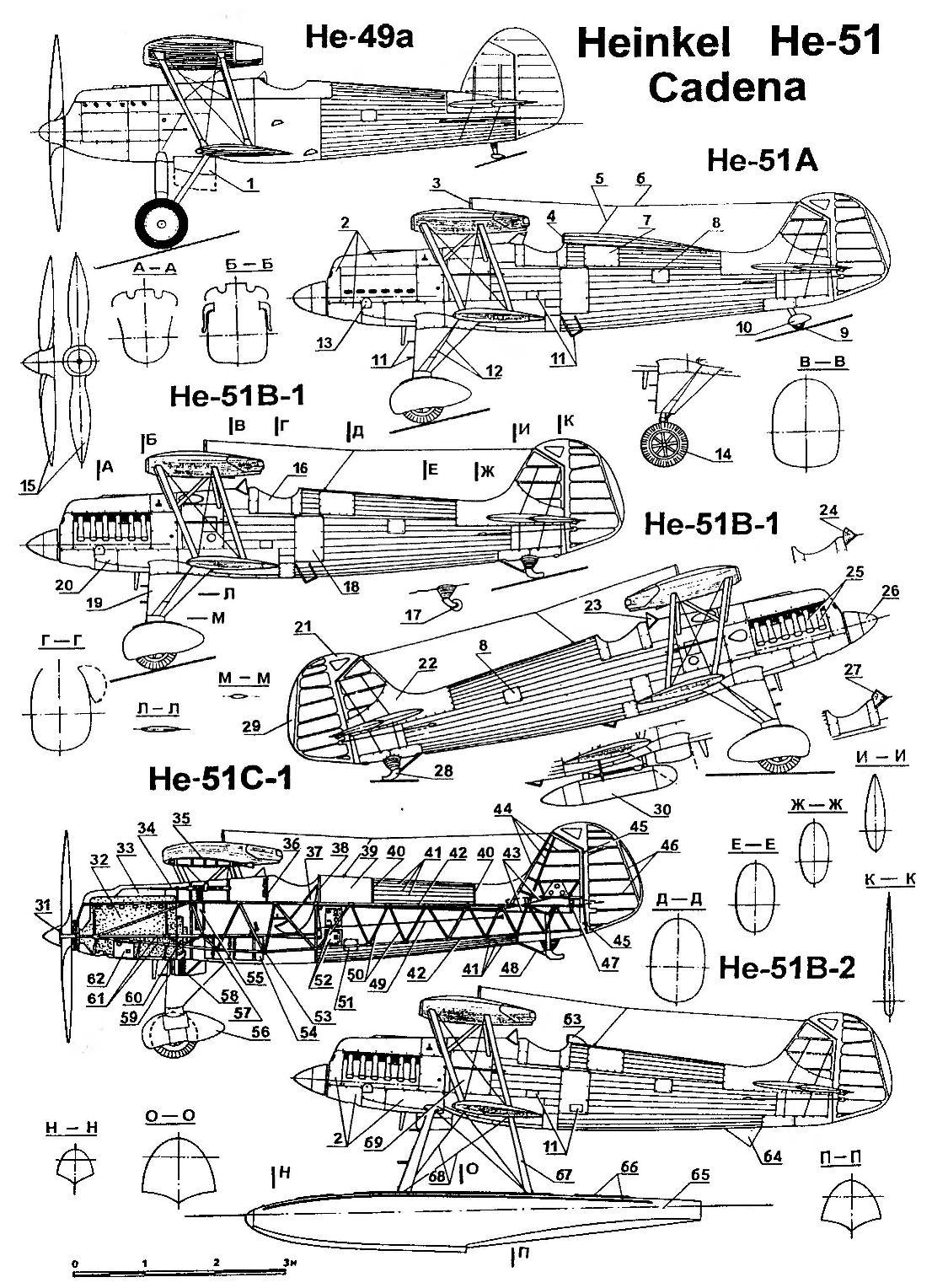 Истребитель He-51