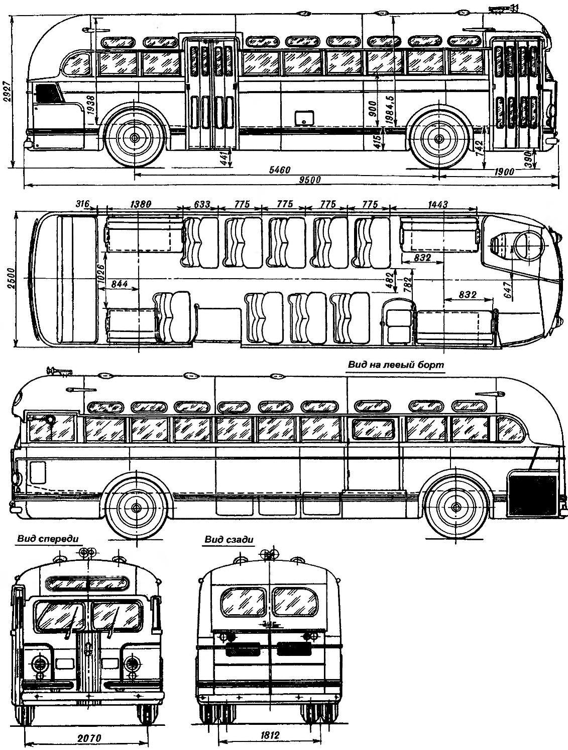 City bus ZIS-154