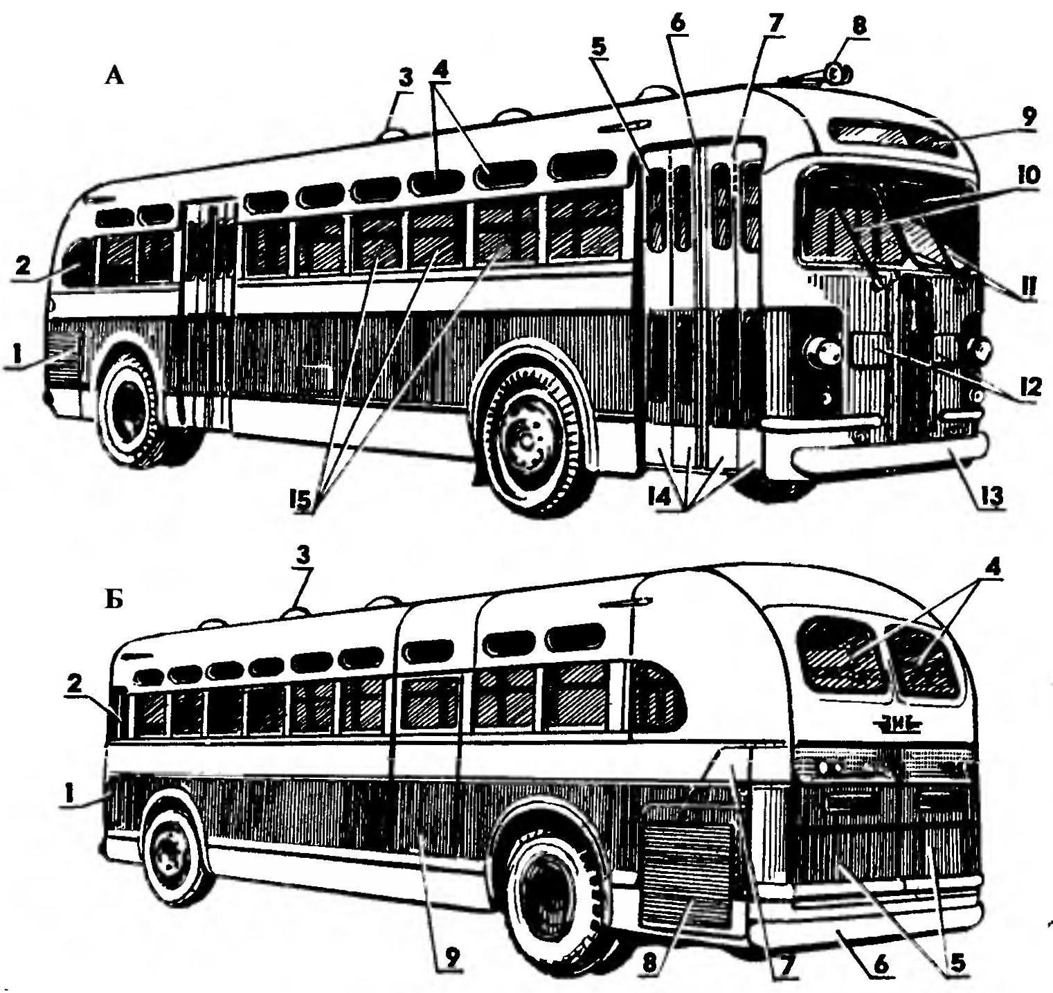 Внешний вид автобуса
