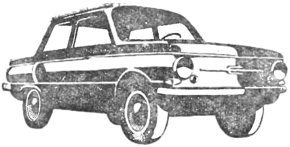 Последняя модель «Запорожца» — «ЗАЗ-968А» (1974 г.).