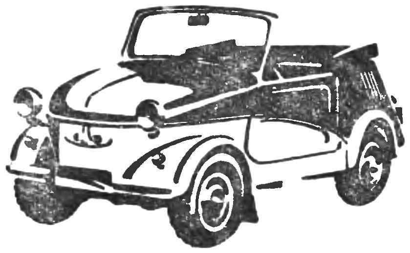 Мотоколяска «С3А» (1958 г.)