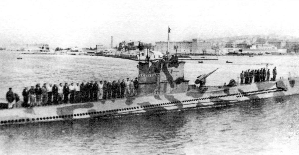 Подводная лодка «Серпента» - тип «Аргонавта» (Италия)