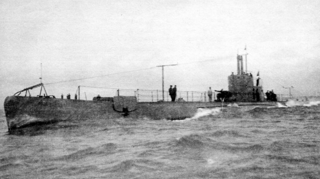 Подводная лодка «Луиджи Сеттембрини» (Италия, 1931 г.)