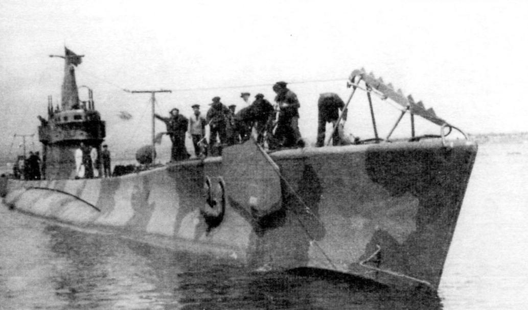 Подводная лодка-заградитель «Фока» (Италия, 1938 г.)