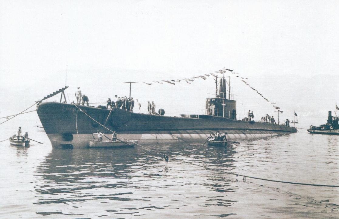 Подводная лодка «Физалия» - тип «Аргонавта»