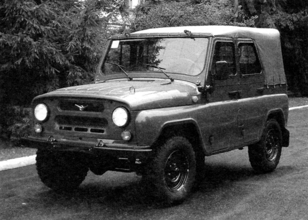 Преемник ГАЗ-69 автомобиль УАЗ-469
