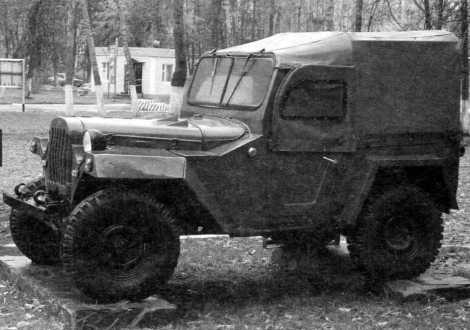 Автомобиль ГАЗ-67Б. Фото Н. Якубовича