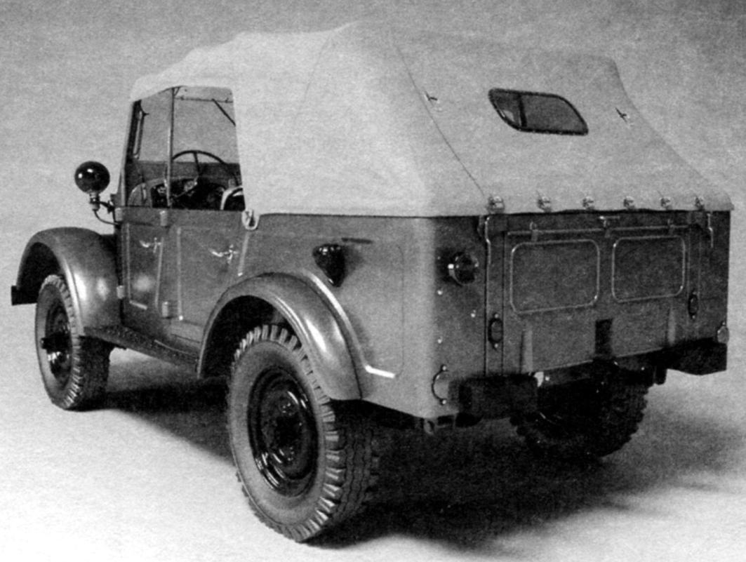 ГАЗ-69 в четырёхдверном варианте