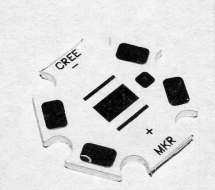 Фото 7. Печатная плата для монтажа светодиодов (подложка кластера) для других типов СЛ