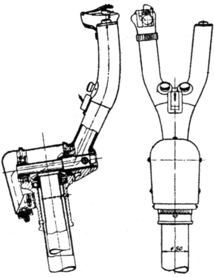 Aircraft control stick