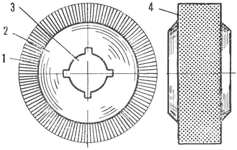 Рис. 1. Общий вид иглофрезы