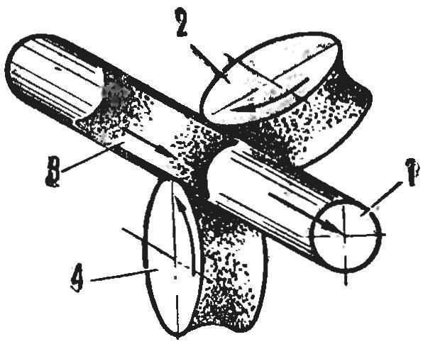 Fig. 8. Triangular sweep tubes