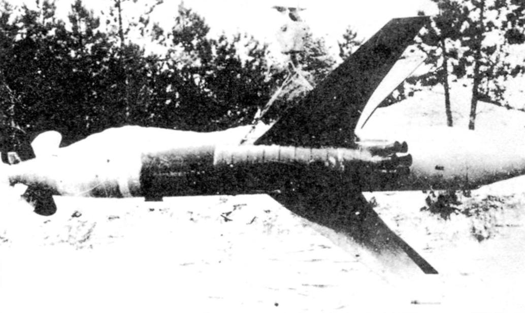 Rare photo of the rocket