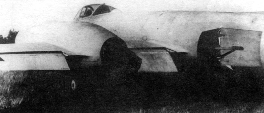 Закрылки и тормозной щиток И-211