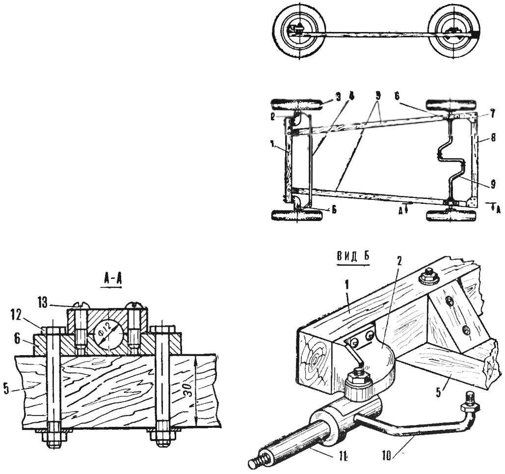 Fig. 3. The chassis of the car