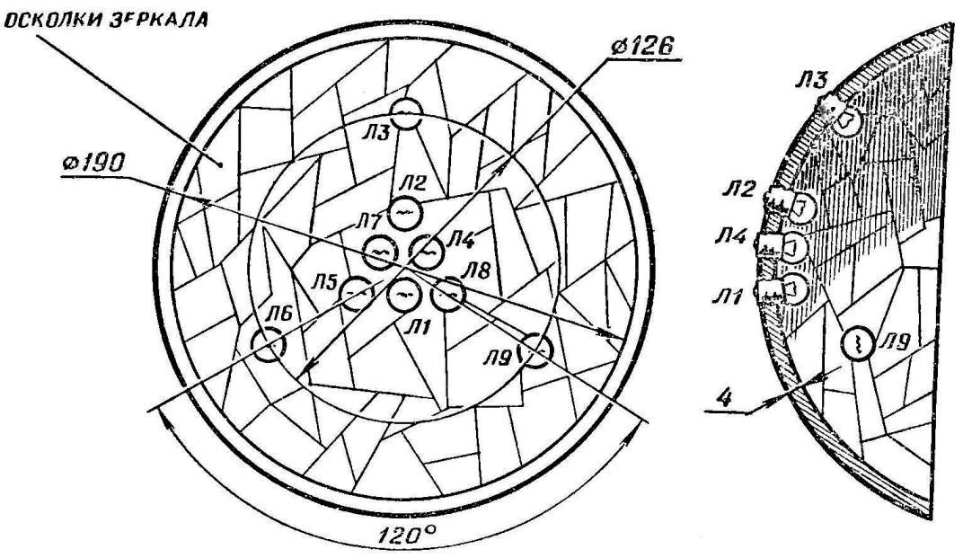 Fig. 3. Reflector design.