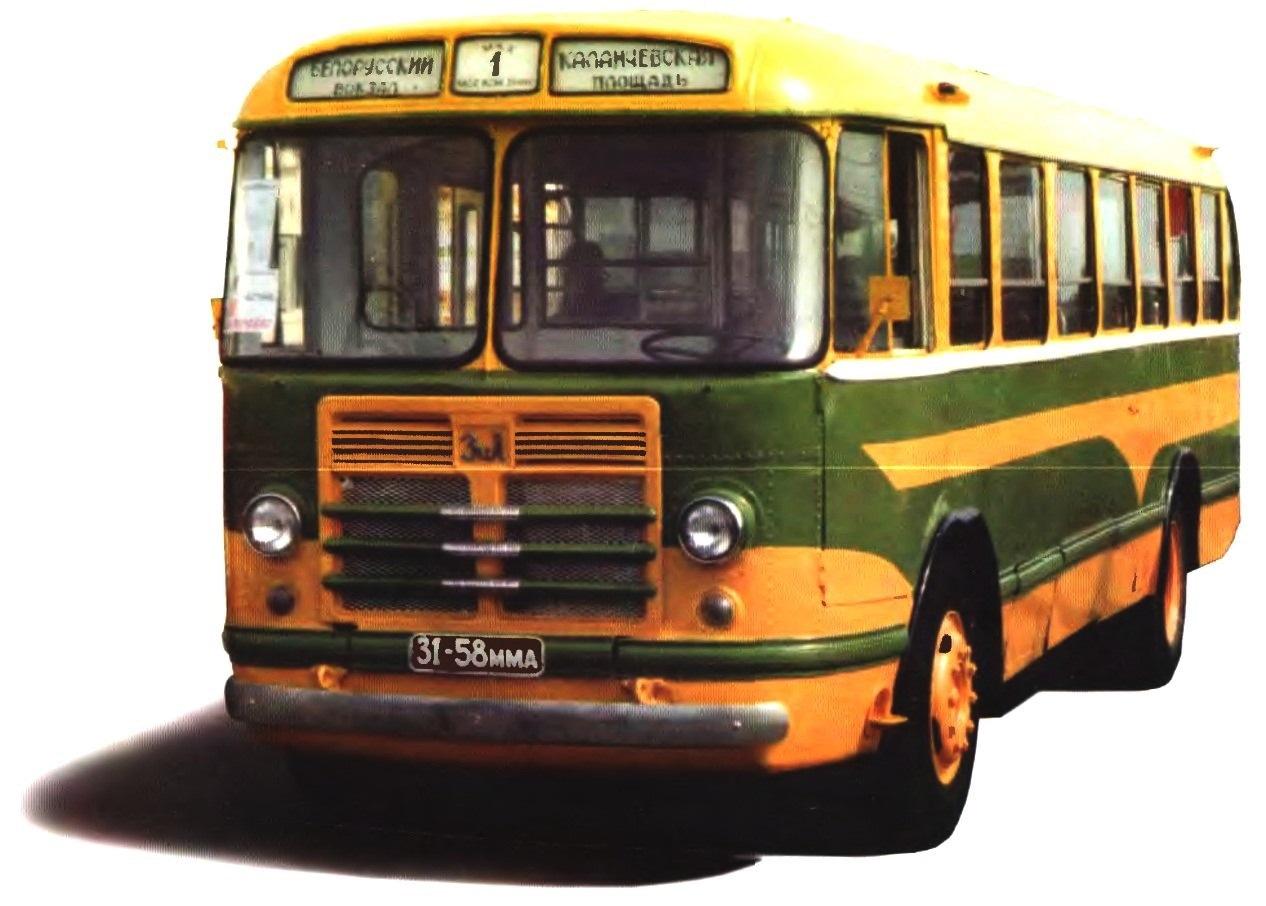 Городской автобус ЗиЛ-158