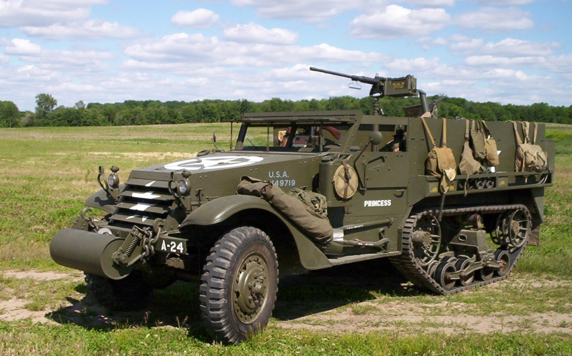 THE AMERICAN HALF-TRACK ARMORED VEHICLES