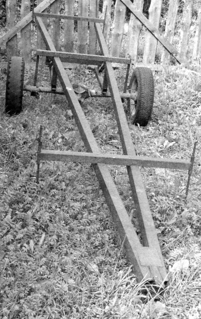 Полуприцеп «Роспуск» для перевозки длинномерных грузов