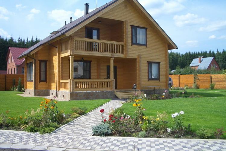 Деревянные дома из клееного бруса – вы можете построить сами!