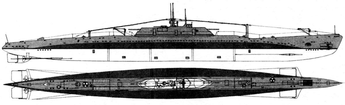Подводная лодка «П-1» («Правда») (4-я серия). СССР, 1936 г.