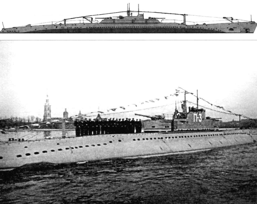 Big submarine type P, IV series