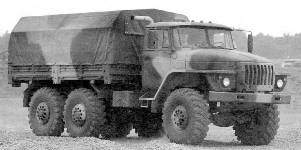 Урал-4320-10 (1993 г.)