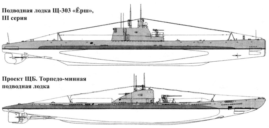 Подводная лодка Щ-303