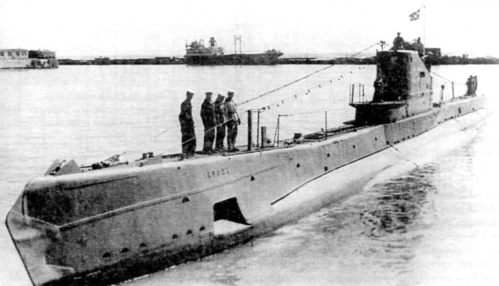 Средняя подводная лодка типа Щ, V бис - 2-я серия