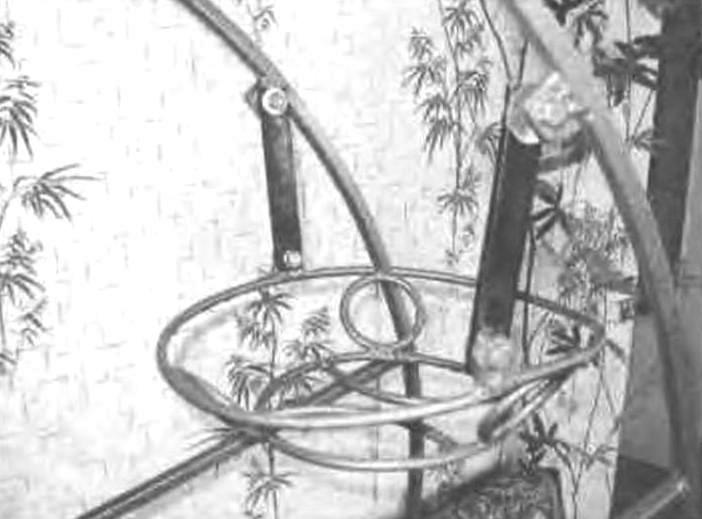 Корзина для горшка с цветком