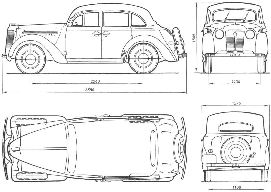 Автомобиль «Москвич-400»